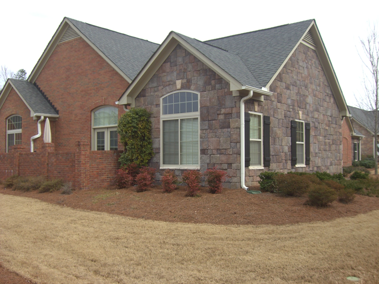 1200 #836B48 Ranch Villa Condo. One Owner And Well Cared For! Covered Entry  pic Peachtree Exterior Doors 46511600